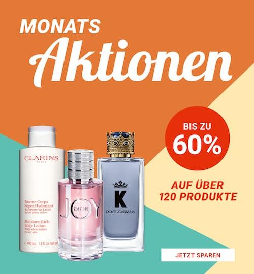 Import Parfumerie Monatsaktionen
